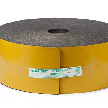 Stickyback Adhesive Foamjoint